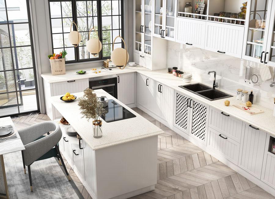 SN21-KC008 Kitchen Cabinet