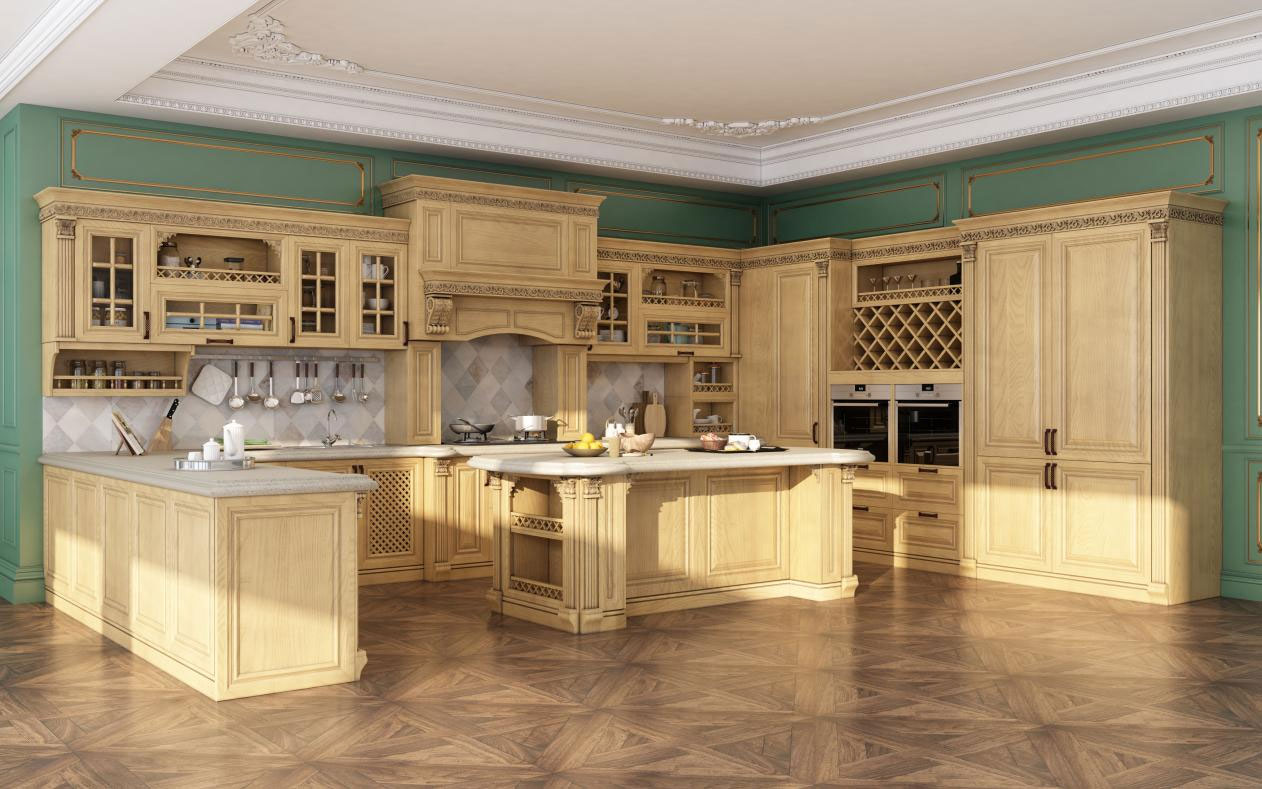 Heritage style kitchens are very popular