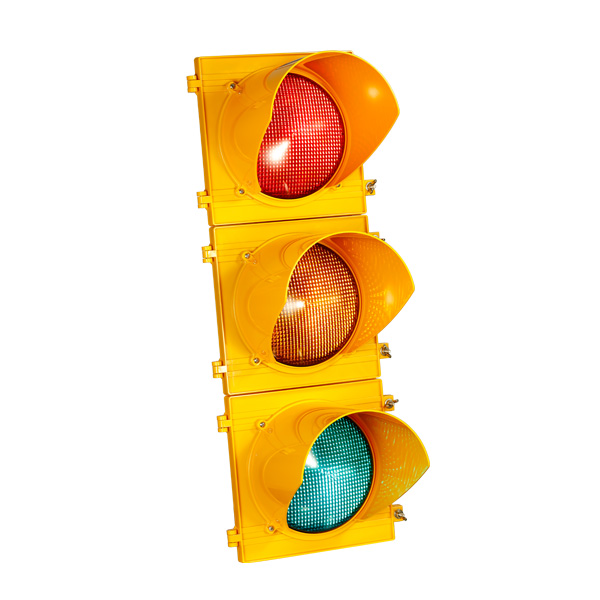 How do You Drive when the Arrow on the Traffic Light is Replaced by a Disk?