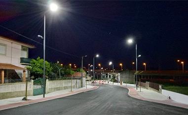 LED Street Light in Portugal