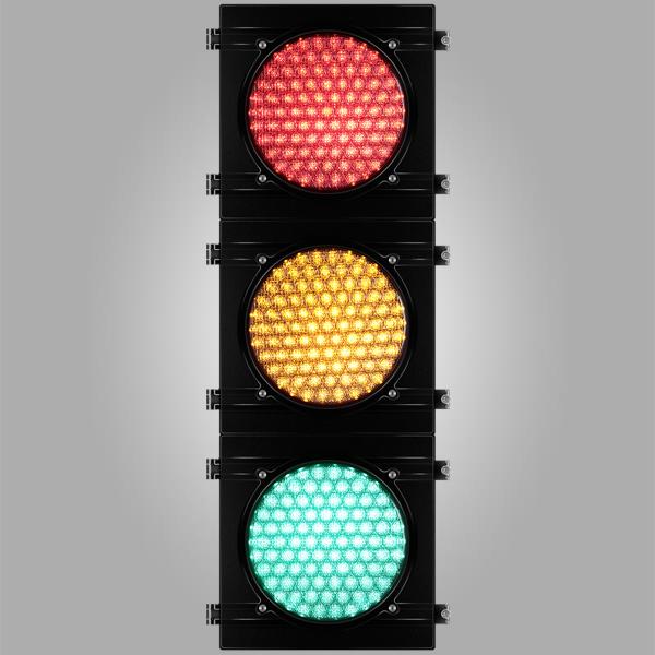 Feux de signalisation tricolore à lentilles COBWEB - Source LED 5 mm