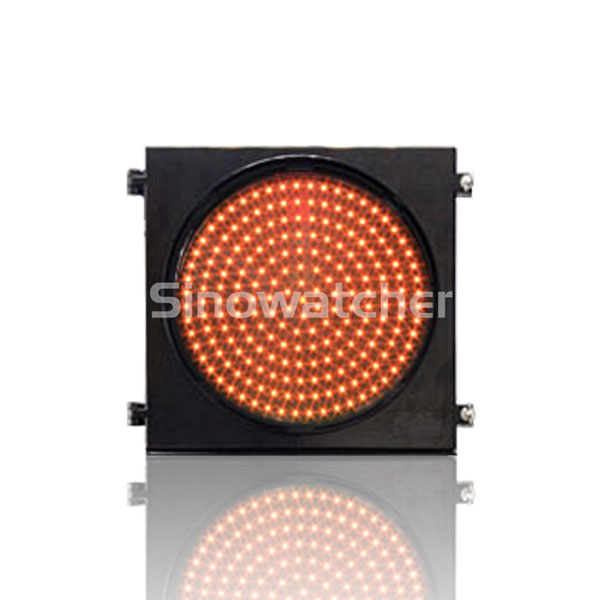 200mm/300mm Red/Yellow One Unit AC Powered Warning Flashing Light