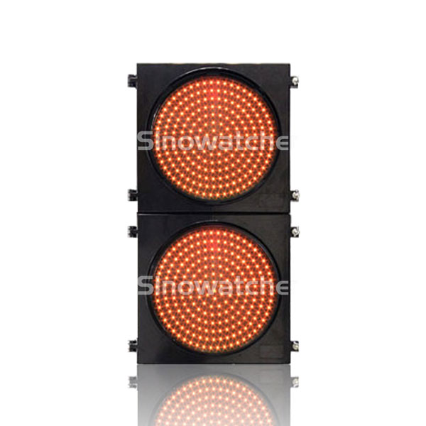 200mm/300mm Red/Yellow Two Units AC Powered Warning Flashing Light