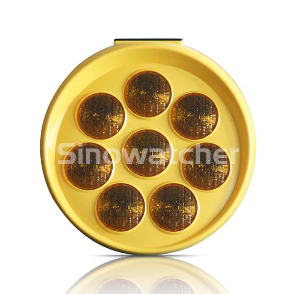 Sunflower Solar Warning Flashing Light