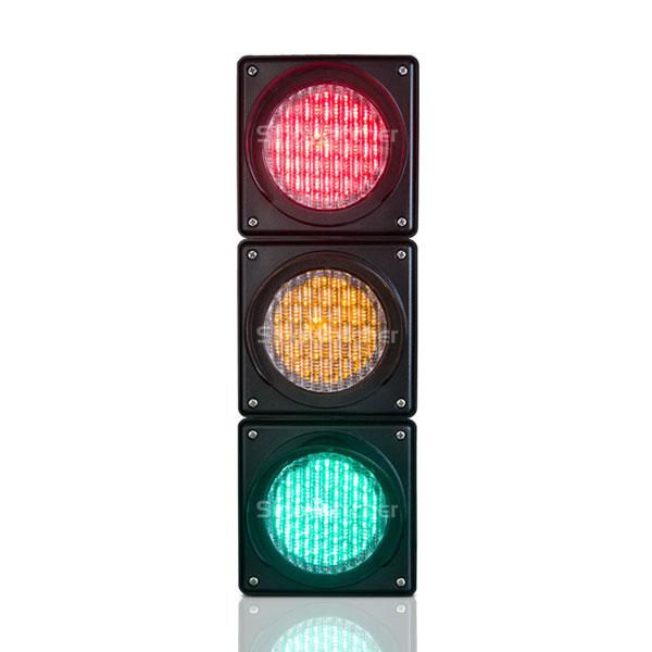 100mm RYG Cobweb Lens Traffic Light