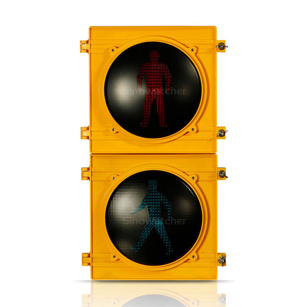 High Flux Pedestrian Traffic Light