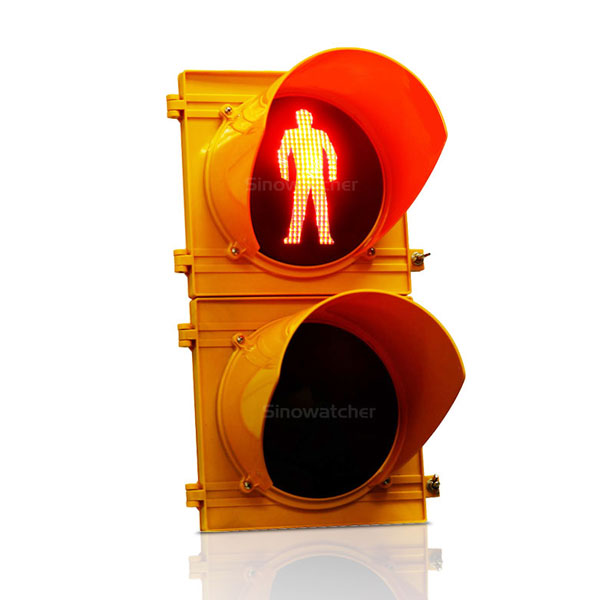 High Flux Pedestrian Traffic Light