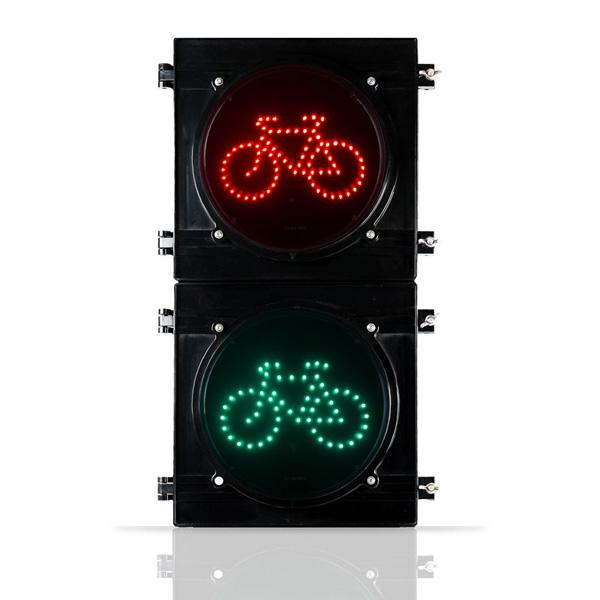 Semáforo Bicicleta De Lente Transparente