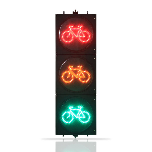 Clear Lens Bicycle Traffic Light