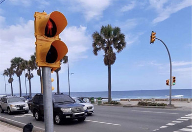High Flux Vehicle Traffic Light