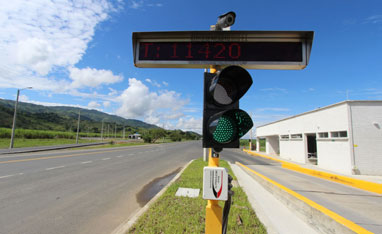 Colombia - Lane Control For Weigh Stations