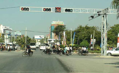 Traffic Light Project in Burma (Myanmar)