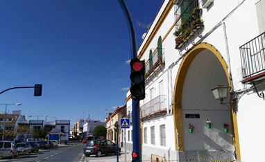 200mm Traffic Light Replacement In Spain