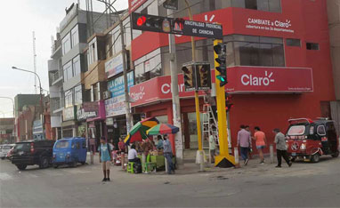 Traffic Light Project in Peru