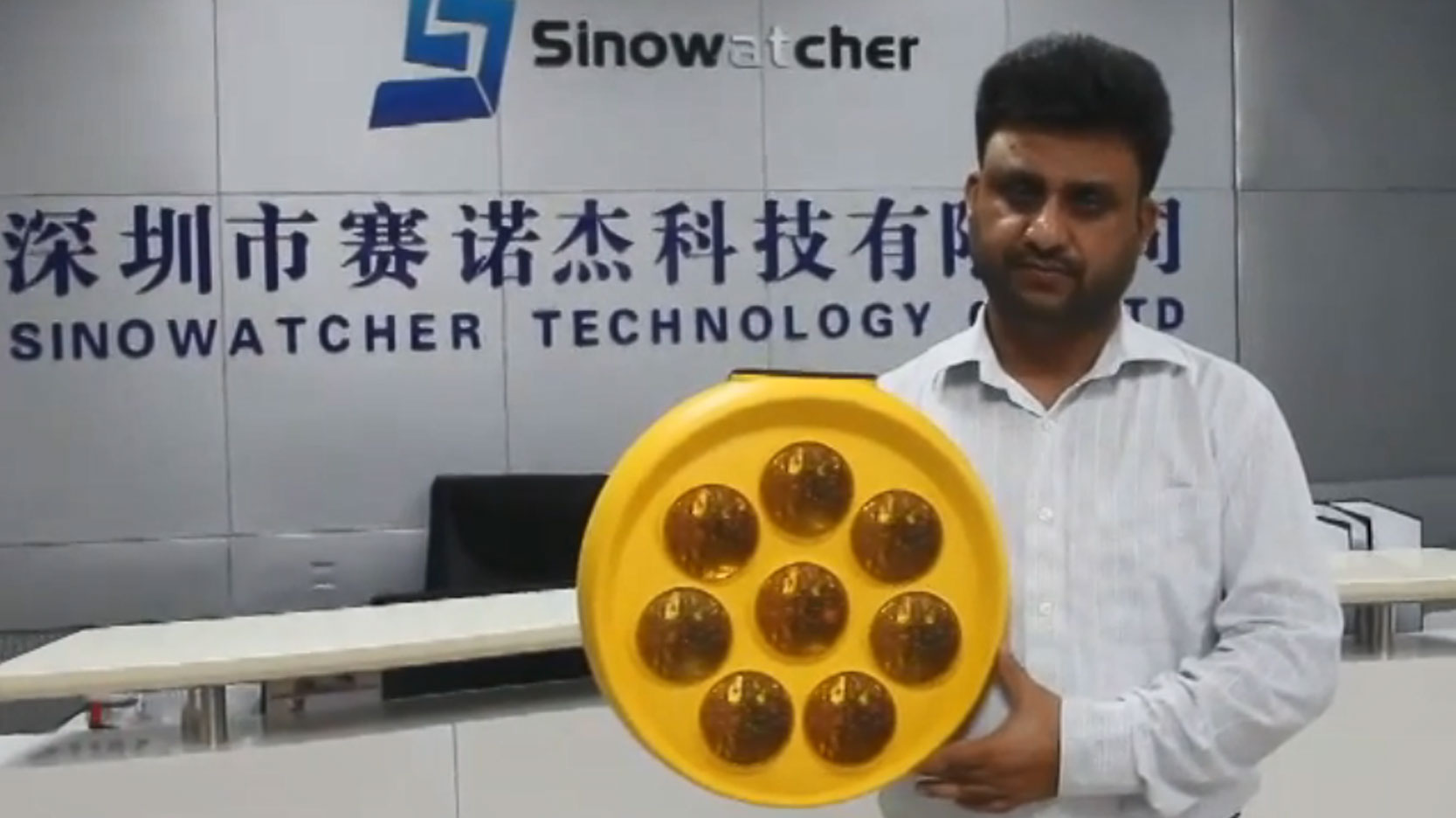 Sunflower Solar Powered Warning Light