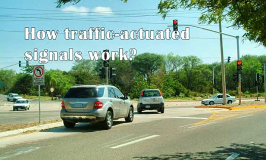 How Traffic-Actuated Signals Work