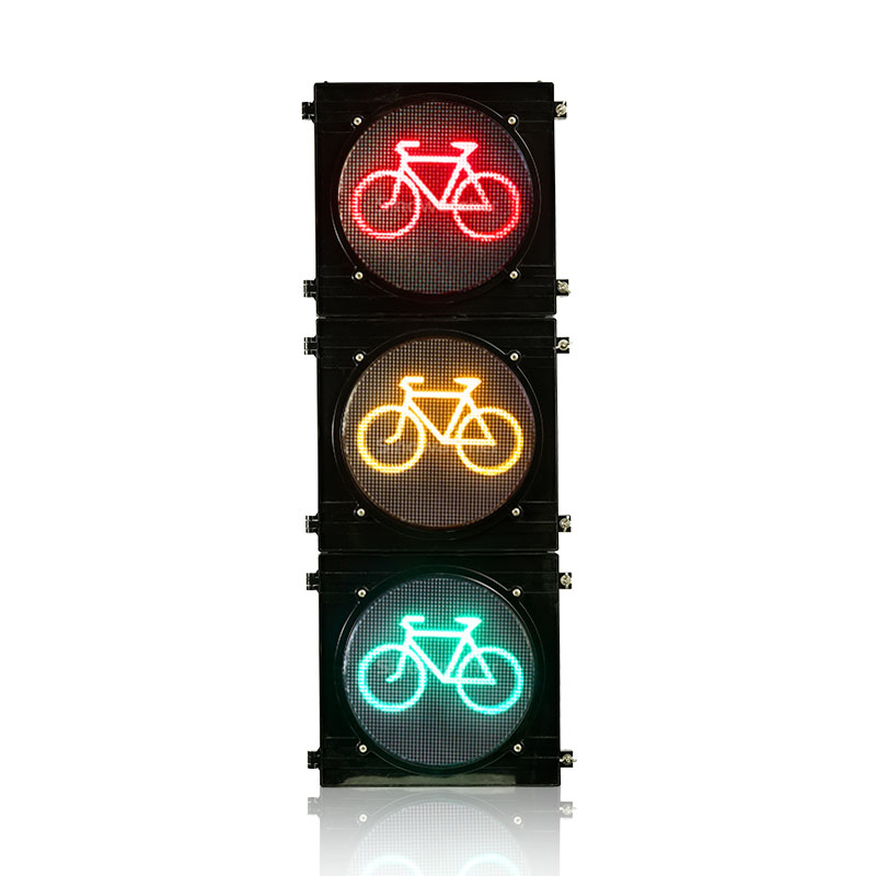 High Flux Bicycle Traffic Light