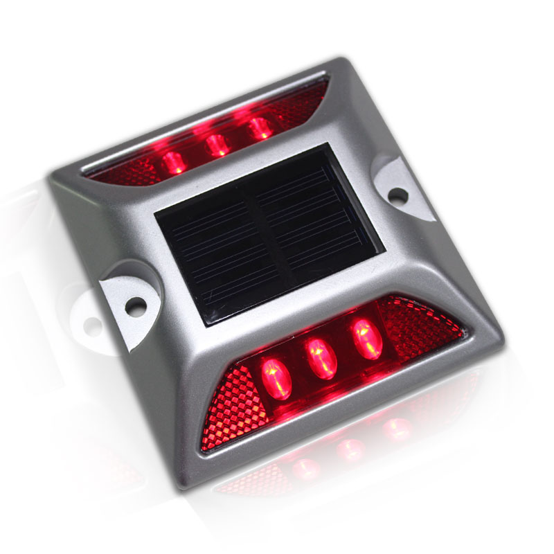Solar Square Aluminum LED Road Studs