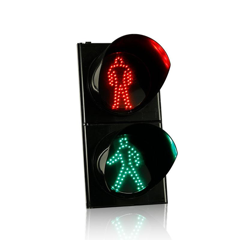 Semáforos Peatonales De Lente Transparente