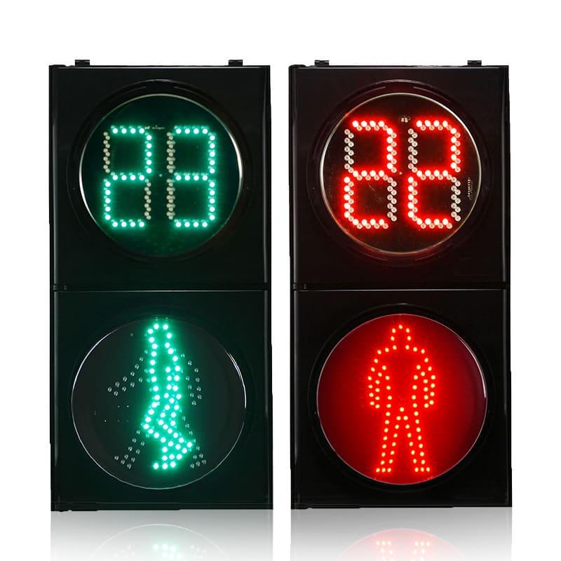 Clear Lens Pedestrian Traffic Light