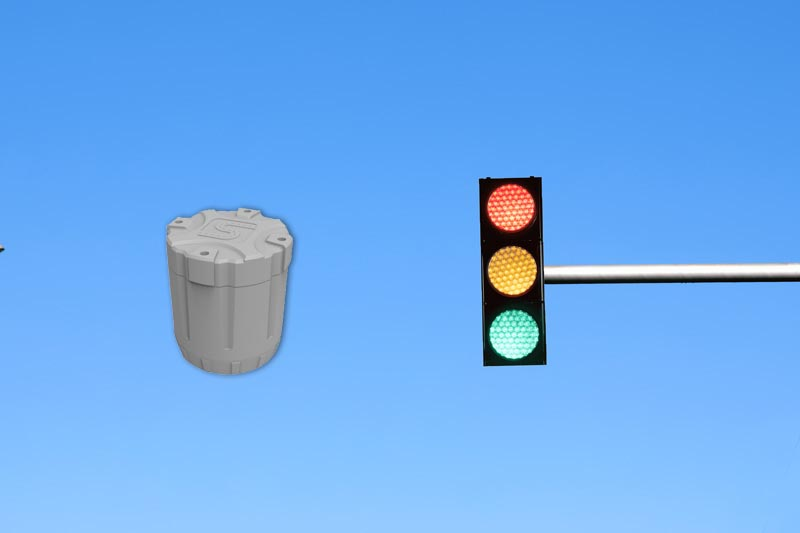 Combination of Geomagnetic Sensors and Traffic Signal Lights