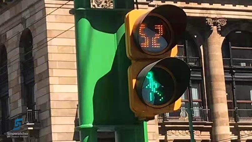 Clear Lens Pedestrian Traffic Light2