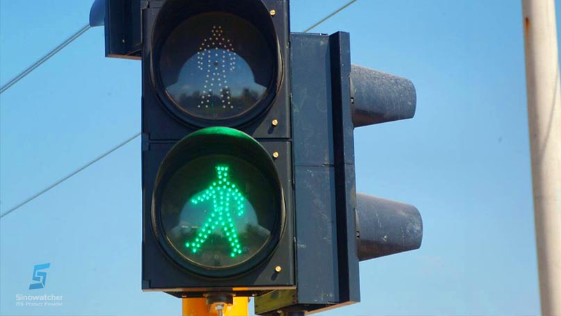 Clear Lens Pedestrian Traffic Light3