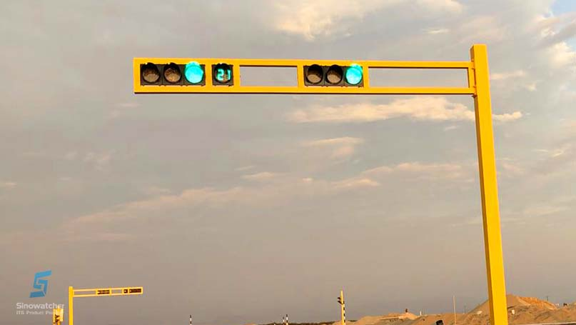 Clear Lens Vehicle Traffic Light4