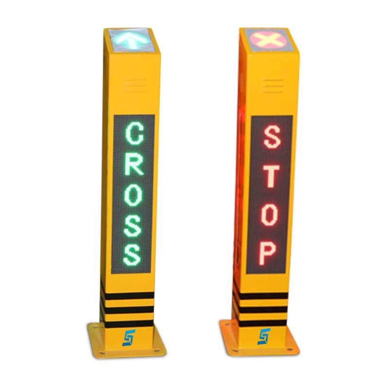 Smart Pedestrian Warning Bollards