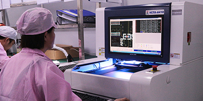 SMD Automatic visual inspection on all PCBs